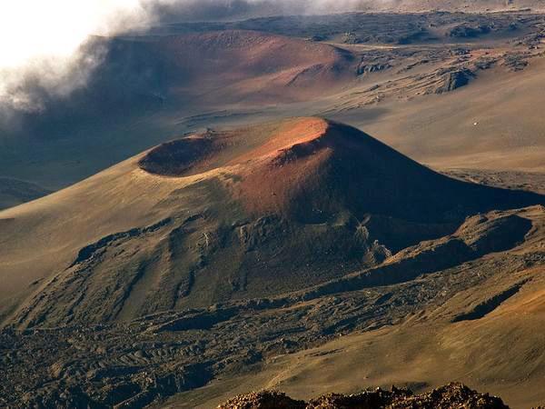 Belle vue de Haleakalā sur Maui, Hawaii, le chakra du coeur de la terre