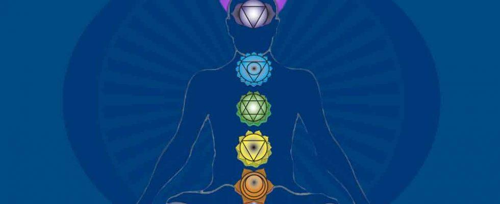 Le concept de chakras ou centres d'énergie du corps humain