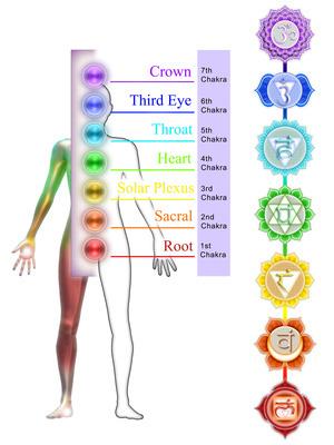 Les sept chakras
