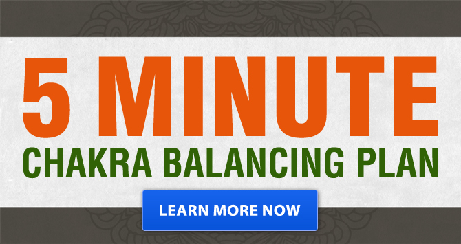 Plan d'équilibrage de chakra